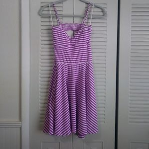 Aeropostale Sundress purple/white Size Medium